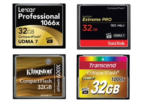 Best Compact Flash memory cards | Top 10 CF cards