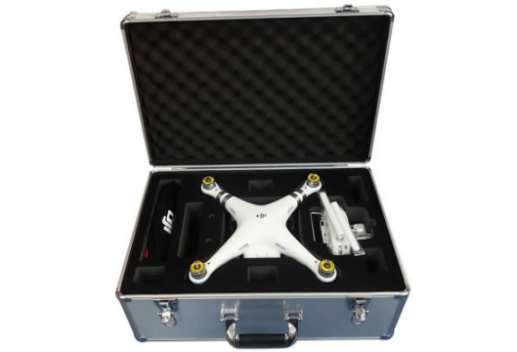 Aluminum Pull Rod Case for DJI Phantom 3 Quadcopter