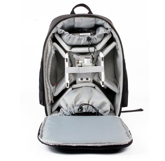 DJI_Phantom3_Backpack5 Zaino per drone DJI Phantom 3 con tasche esterne