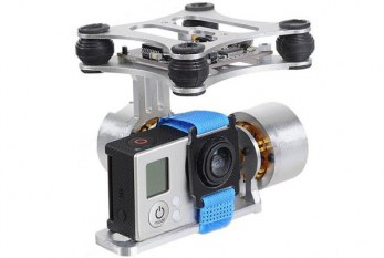 FPV Brushless PTZ Gimbal Controller for GoPro 3 – 4 DJI Phantom