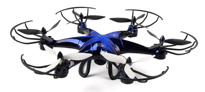 LiDi RC 6 Axis Gyro Hexacopter review