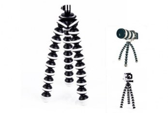 2-in-1 Action Camera Octopus Multi-Function Tripod