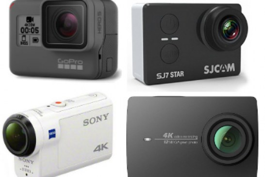 The best action cams of 2018