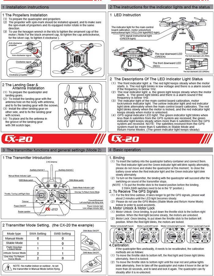 cheerson-cx-20-9