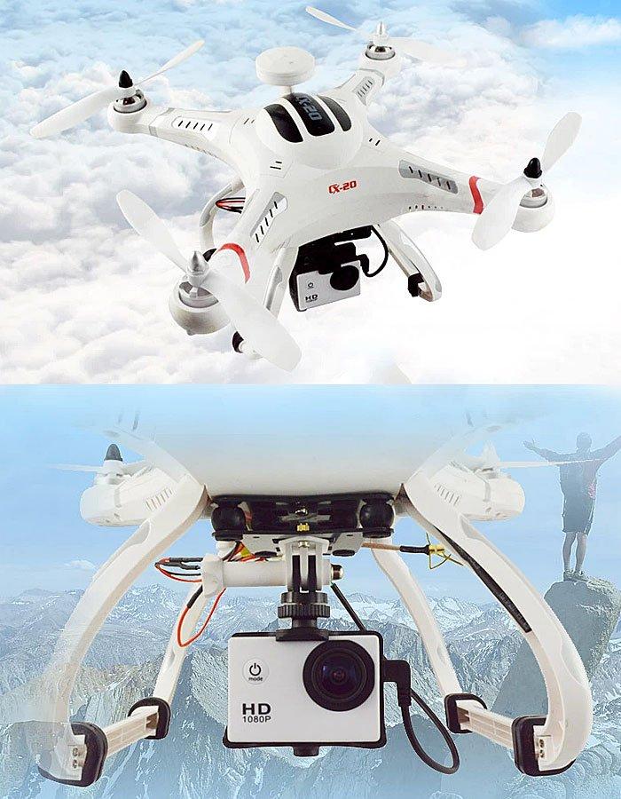 cx-20-gimbal Recensione Cheerson CX-20 drone economico ma funzionale