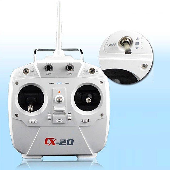 cx-20-remote-controller Recensione Cheerson CX-20 drone economico ma funzionale