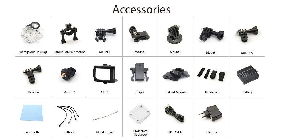 EKEN-H8-accessories