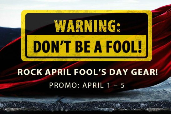 April Fool promo @ Gearbest