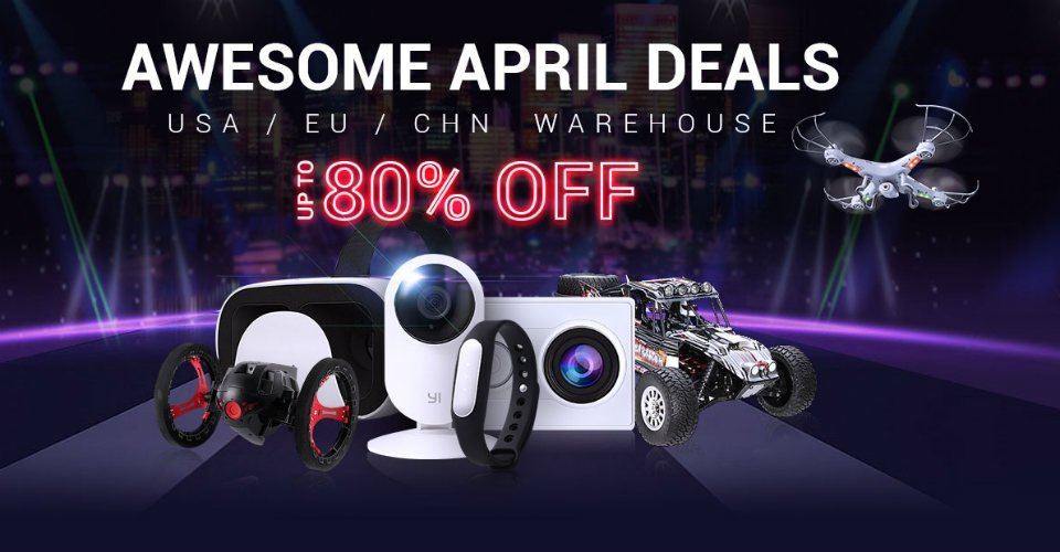 April deals @ Gearbest