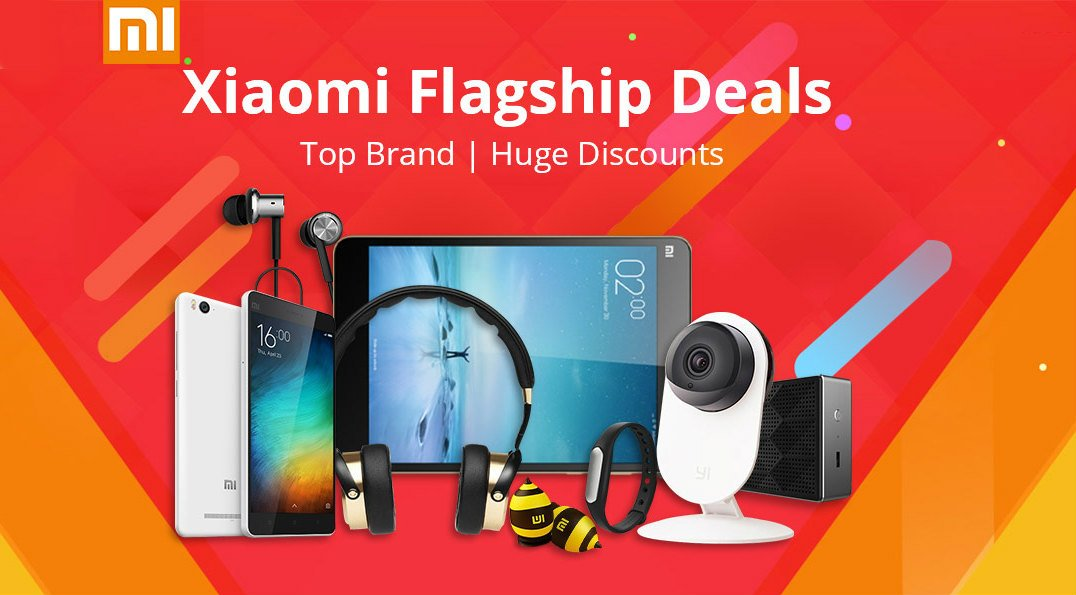 Big Xiaomi deals! Action cams, smartphones, cctv, earphones