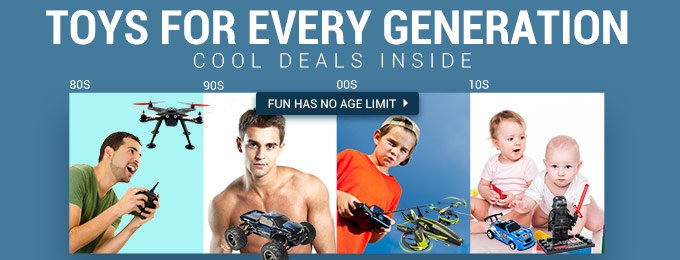RC deals @ Gearbest for every age