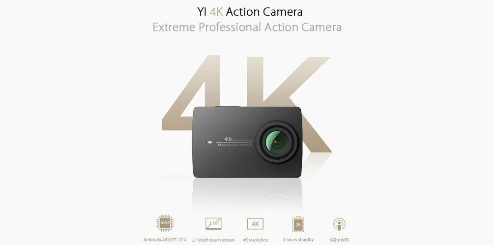 YI technology - YI 4K Action Camera review