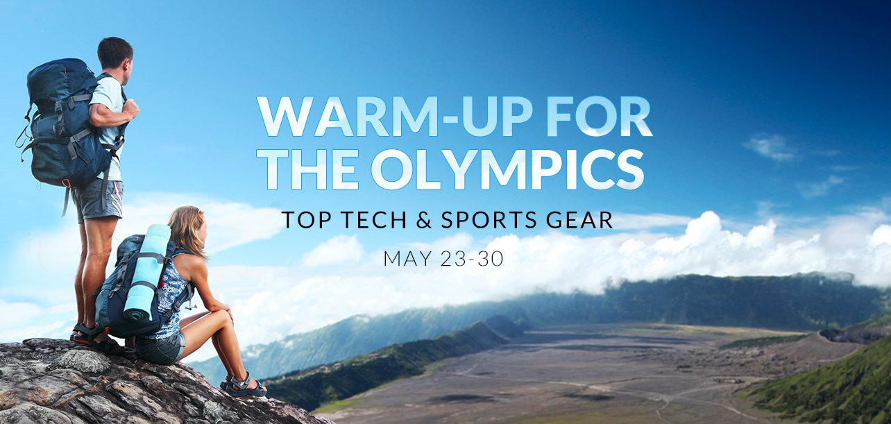 Pre-Olympic deals @ Gearbest