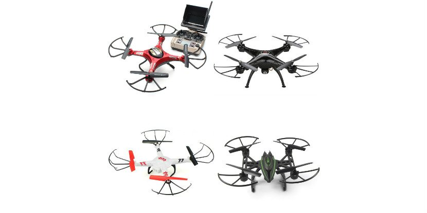 The best selling drones from 25$ to 79$ with camera