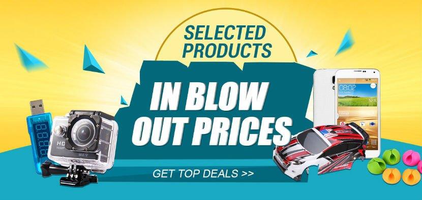 Hot summer sale @ Gearbest