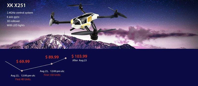 1-1 Vinci un drone XK X251