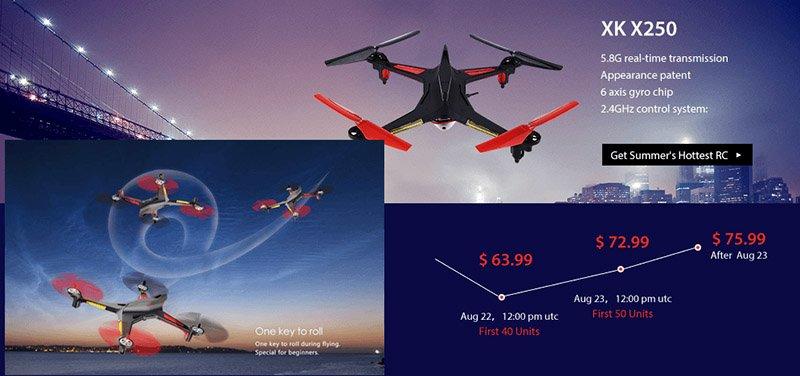 2-1 Vinci un drone XK X251
