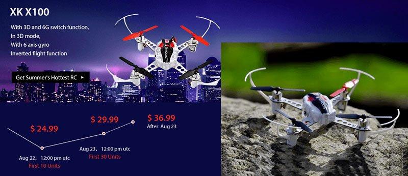 3-1 Vinci un drone XK X251