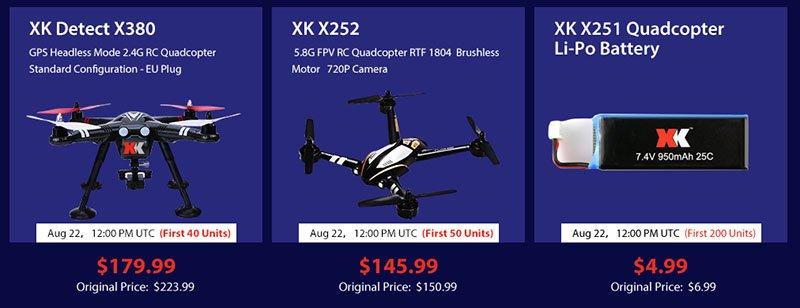4-1 Vinci un drone XK X251