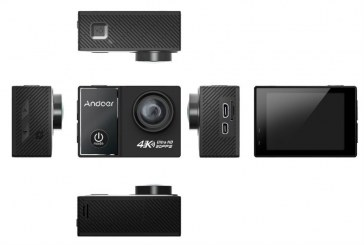 Andoer C5 Pro 4K review and test