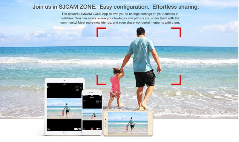 SJ7_app SJcam SJ7 star - recensione e prove video 4K