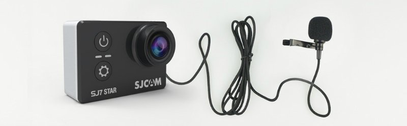SJ7_external_microphone SJcam SJ7 star - recensione e prove video 4K