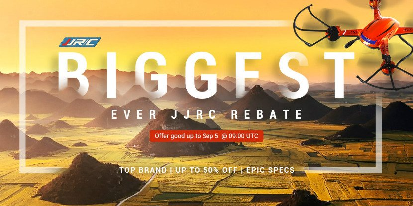 JJRC promotion - best deals