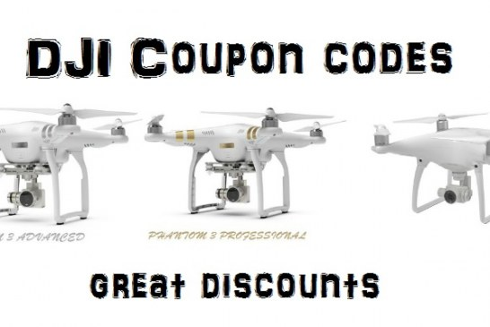 Great DJI Phantom 3 & 4 coupons for 11.11 promotion