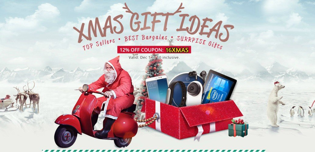 Xmas gifts ideas and coupons from Everbuying