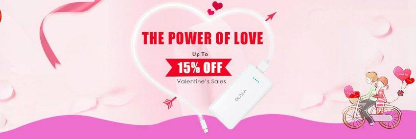 Valentine tech sales by OLALA