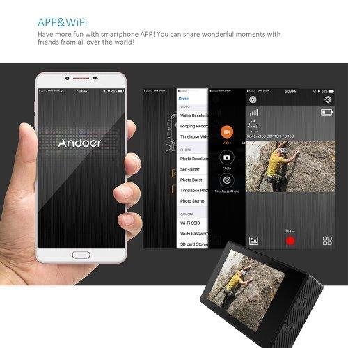 Andoer_A7000_app Recensione Andoer AN7000 con prove video
