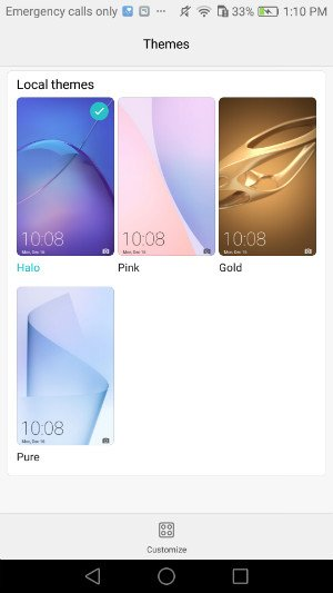 Honor_6X_themes Recensione Honor 6X