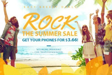Rock summer sale from Gearbest
