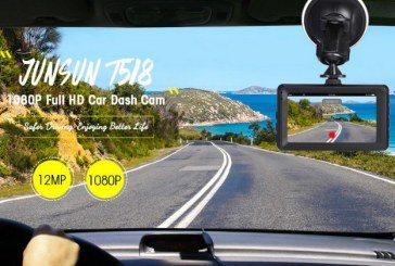 JUNSUN T518 Car Dash Cam 1080P Full HD DVR overview