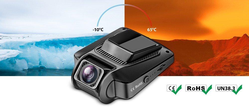 Alfawise-MB05-heat Recensione Alfawise MB05 dashcam